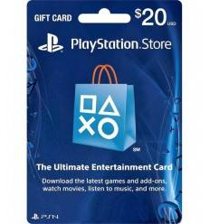 PSN PSN $20 USD Gift Card