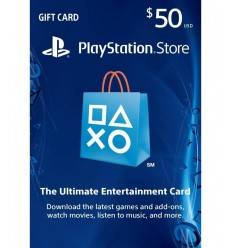 PSN PSN $50 USD Gift Card