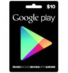 Google Play Google Play $10 USD