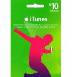 Gift Cards $10 Gift Card iTunes & AppStore