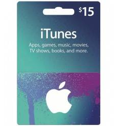 Gift Cards $15 Gift Card iTunes & AppStore