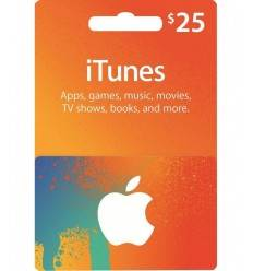 Gift Cards $25 Gift Card iTunes & AppStore