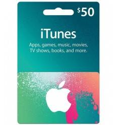 $50 Gift Card iTunes & AppStore